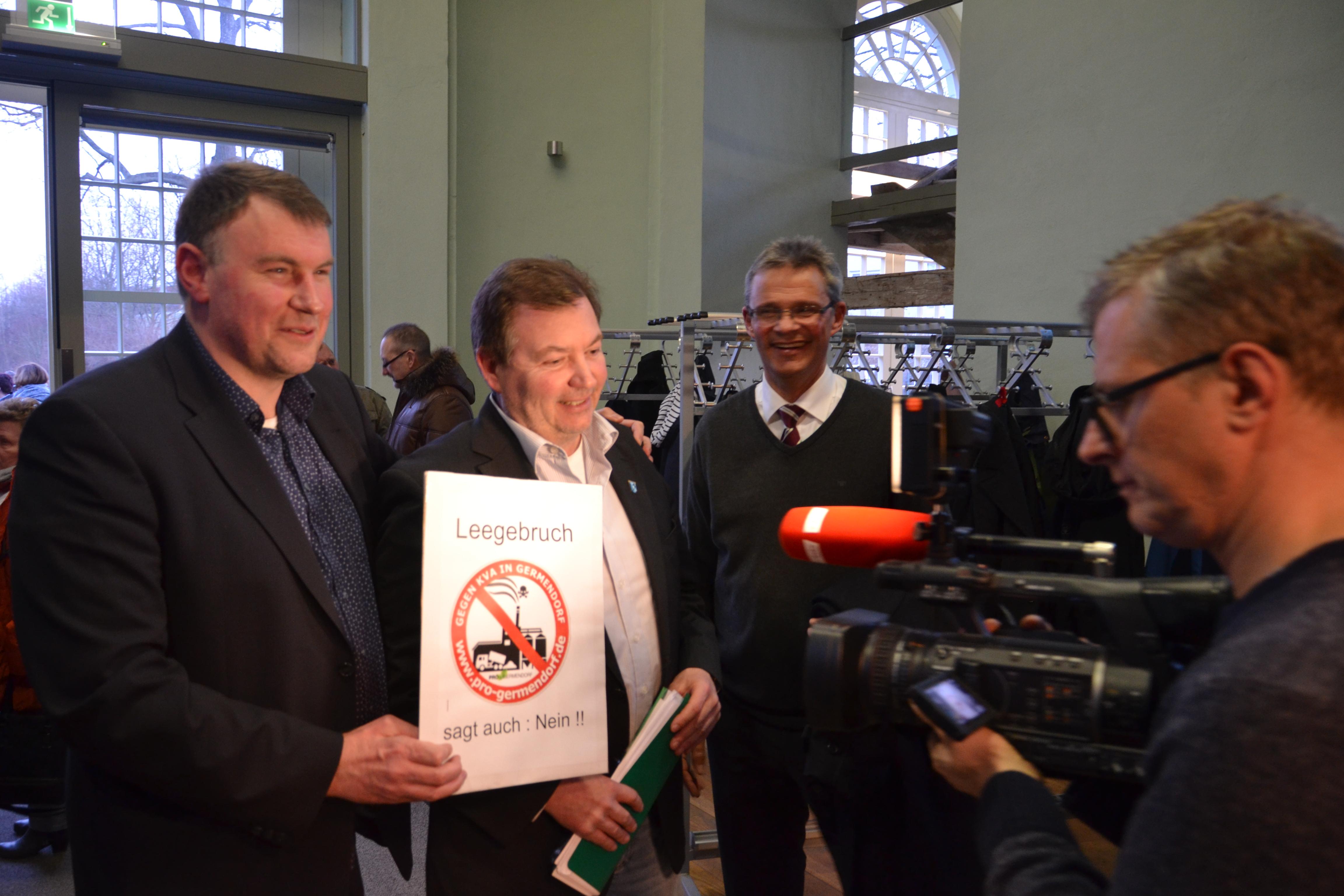 RBB Fernsehen berichtet über Aktionsbündnis Contra KVA
